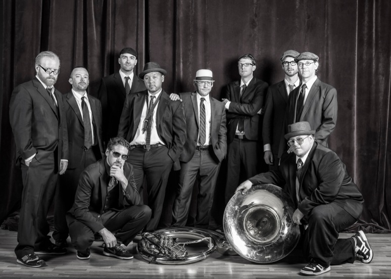 Lowdown Brass Band B&W